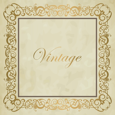 Vintage vector background Vector