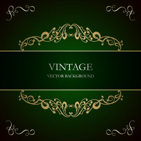 Vintage background Stock Vector - 13640535