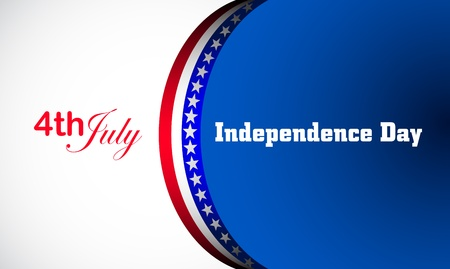 voting: Independence Day, Vektor-Hintergrund