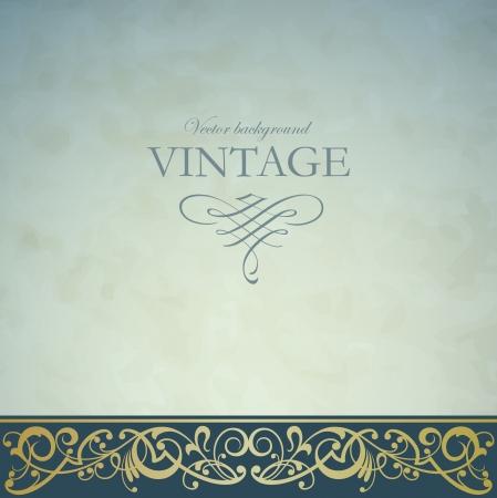 elegante: Sfondo vettoriale Vintage