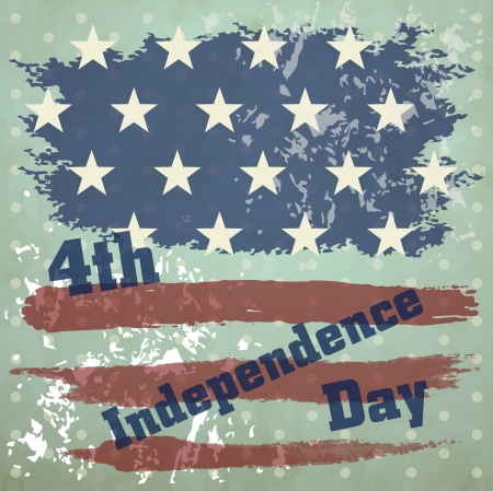 Independence Day, vector background Vector