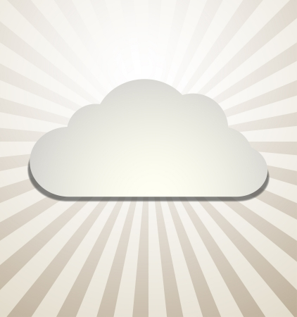 day forecast: Cloud Background Vector abstract design