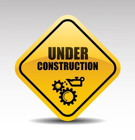 Under construction abstract vector illustration Stock Vector - 15062952