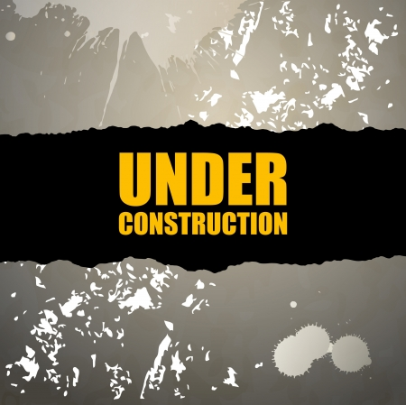 Under construction abstract vector illustration Stock Vector - 15062959