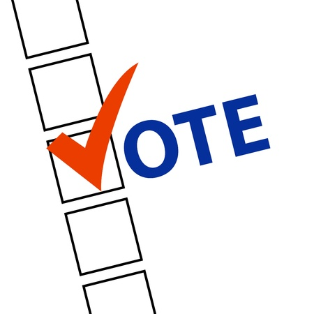 presidential: Voting Symbols vector