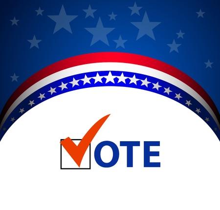 political campaign: Voting Symbols vector