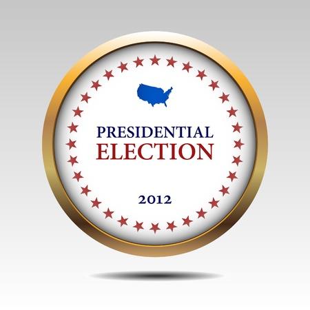 presidential: Voting Symbols  design