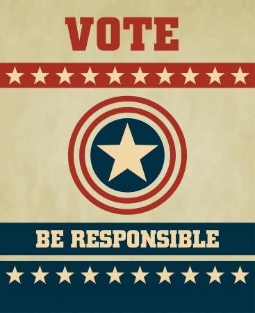 Voting Symbols  design Stock Vector - 15157171