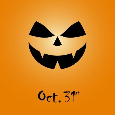 Halloween background design silhouette Stock Vector - 15637363