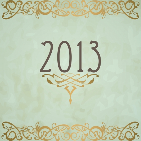 Happy New Year design card  images Stock Vector - 16549041