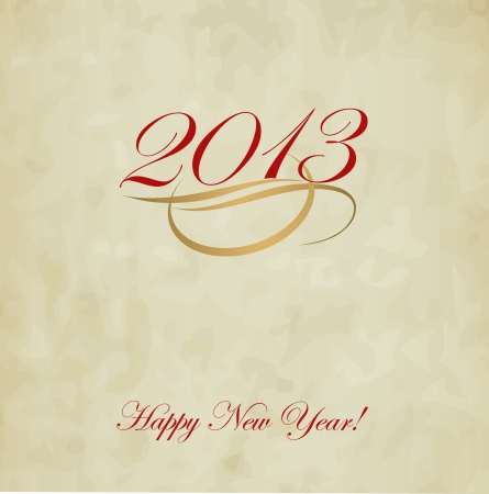 Happy New Year design card  images Stock Vector - 16549034