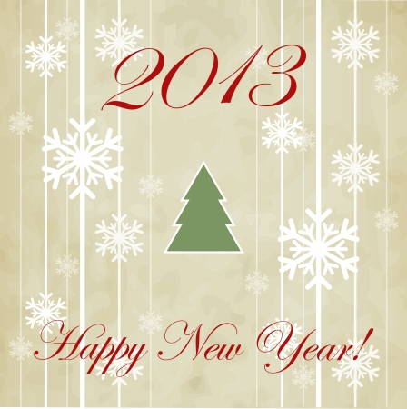 Happy New Year design card  images Stock Vector - 16549044