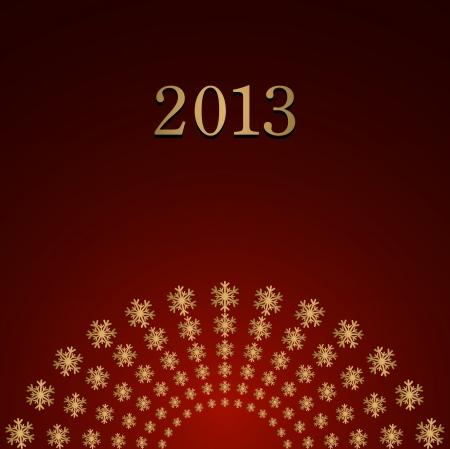 Happy New Year design card Stock Vector - 16549031