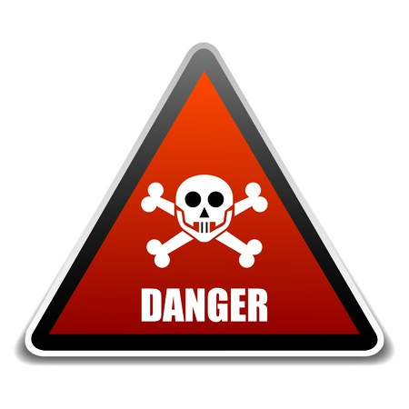 Danger sign  Stock Vector - 16549078