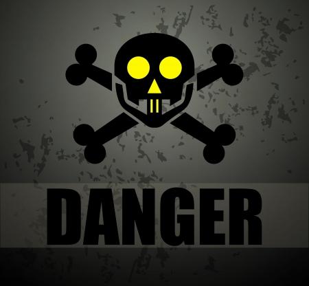 Danger sign Stock Vector - 16549101