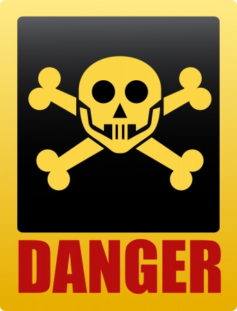 Danger sign  Stock Vector - 16548988