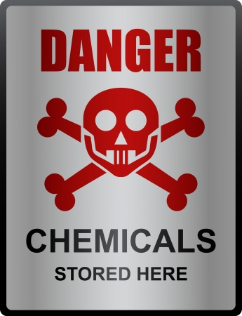 Danger sign Stock Vector - 16548995