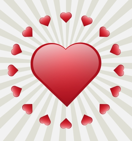 love wallpaper: Valentines Day card background