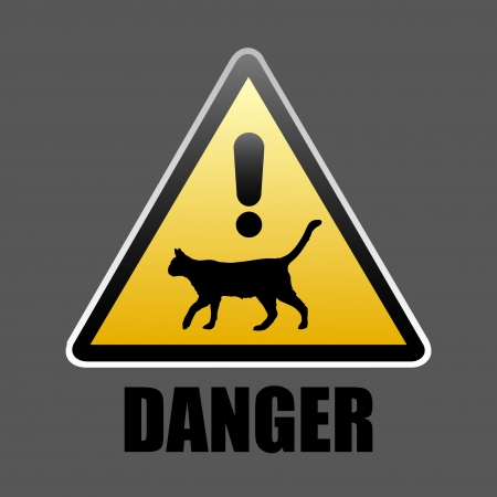 Danger sign Stock Vector - 17006966