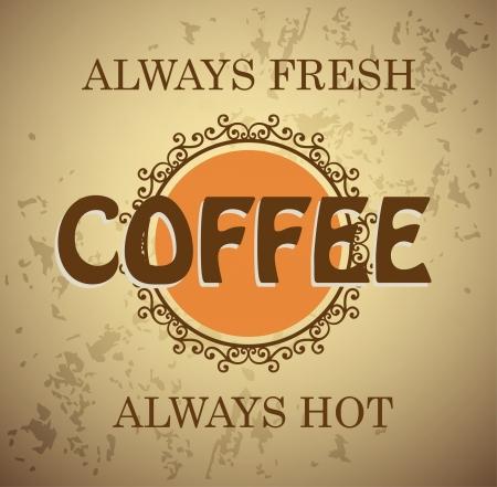 Coffee background Stock Vector - 17329299