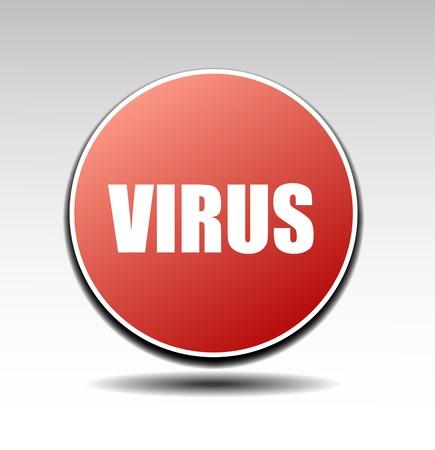 Stop virus vector sign Stock Vector - 17443693
