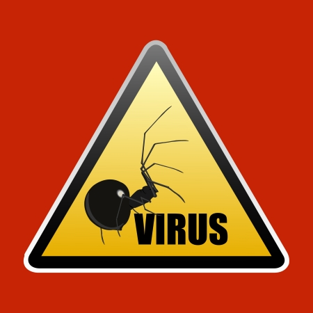 Stop virus vector sign Stock Vector - 17443676
