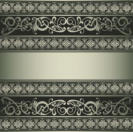 antique wallpaper: Vintage vector background Illustration