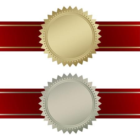 Blank guarantee vector element sign certificate