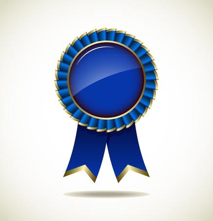 Award Rosette - Ribbon Icon Stock Vector - 18060306