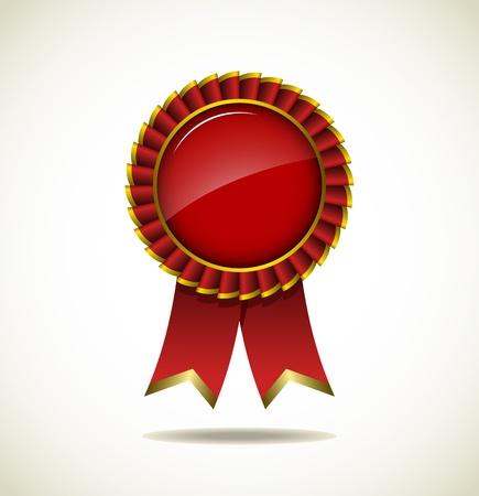 Award Rosette - Ribbon Icon Stock Vector - 18060300
