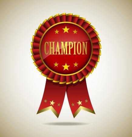 Award Rosette - Ribbon Icon - EPS10 Stock Vector - 18116408