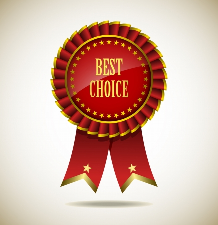 Award Rosette - Ribbon Icon - EPS10 Stock Vector - 18116520