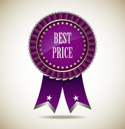 Award Rosette - Ribbon Icon - EPS10 Stock Vector - 18116521