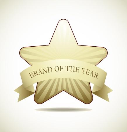 Award Star - Star Icon  Stock Vector - 18214208