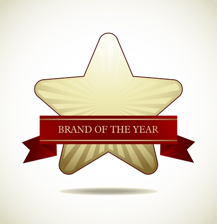 Award Star - Star Icon  Stock Vector - 18214207