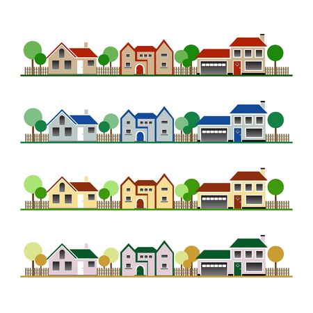 Eco Houses Stock Vector - 18733546