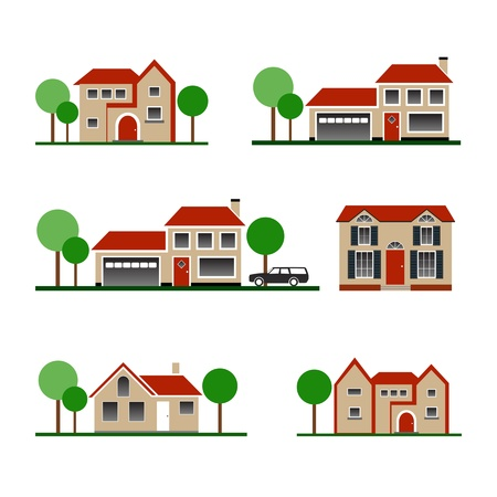 cartoon building: House Icon