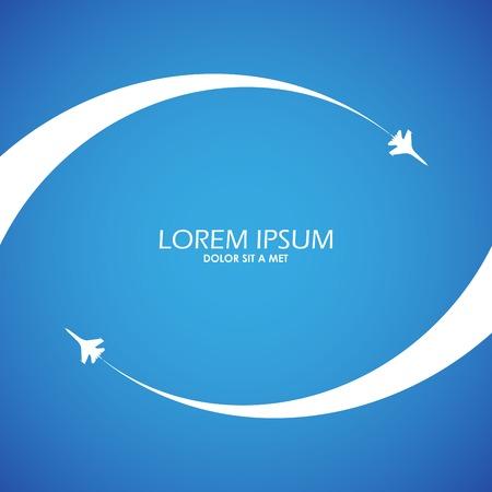 plane icon: airshow symbol