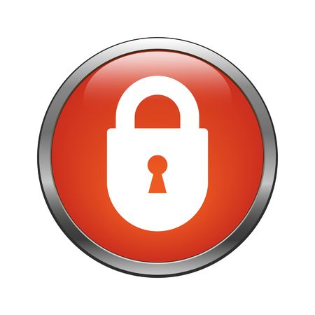 Lock icon Stock Vector - 27968279
