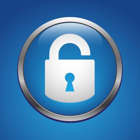 forbidden to pass: Unlock icon
