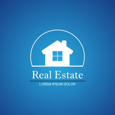 simple house: Real Estate Vector