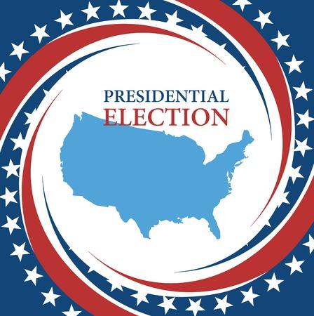 Voting Symbols vector design presidential election Vector