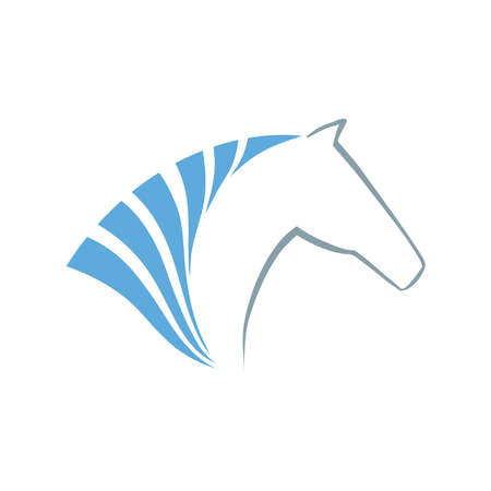 Horse symbol vector  Abstact symbol  Corporate icon  Vector