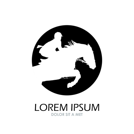 Horse symbol vector  Abstact symbol  Corporate icon  Illustration