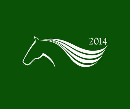 Horse symbol vector  New Year Symbol  Vector