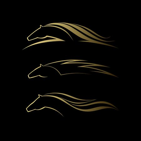 paddock: Horse symbol vector
