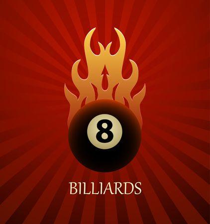 Billiards symbol vector sign Vettoriali
