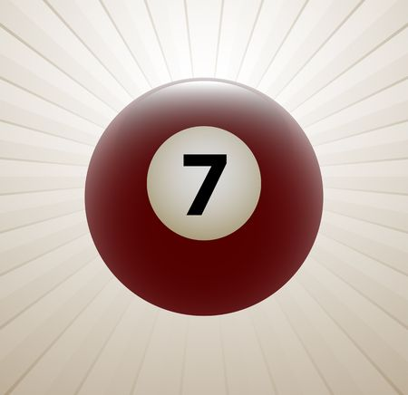 Billiards symbol vector sign Vector