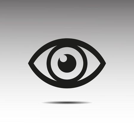 Eye icon Banco de Imagens - 39155054