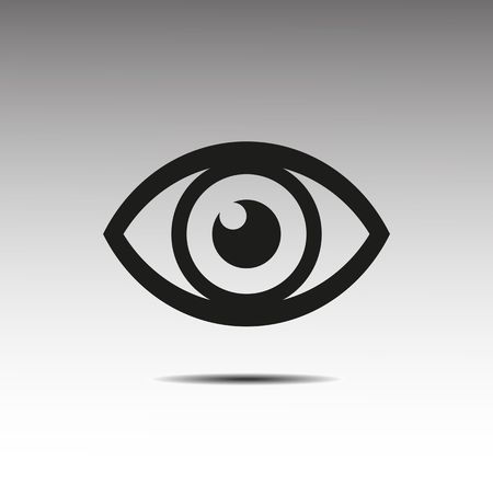 Icona Eye Archivio Fotografico - 39155054